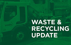 Waste services re-open today from 10am